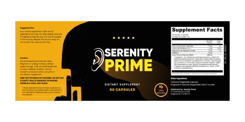 Serenity Prime Tinnitus